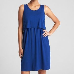 GAP layered nursing dress